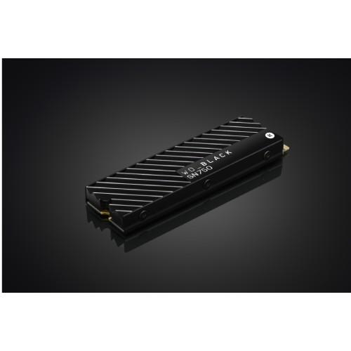 WD BLACK SN 750 NVMe SSD_Heatsink